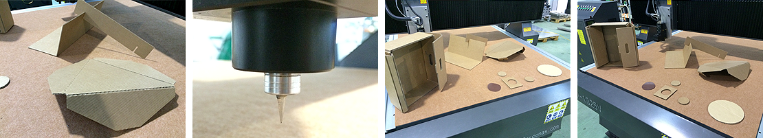 Cuchilla corte oscilante para papel y cartón