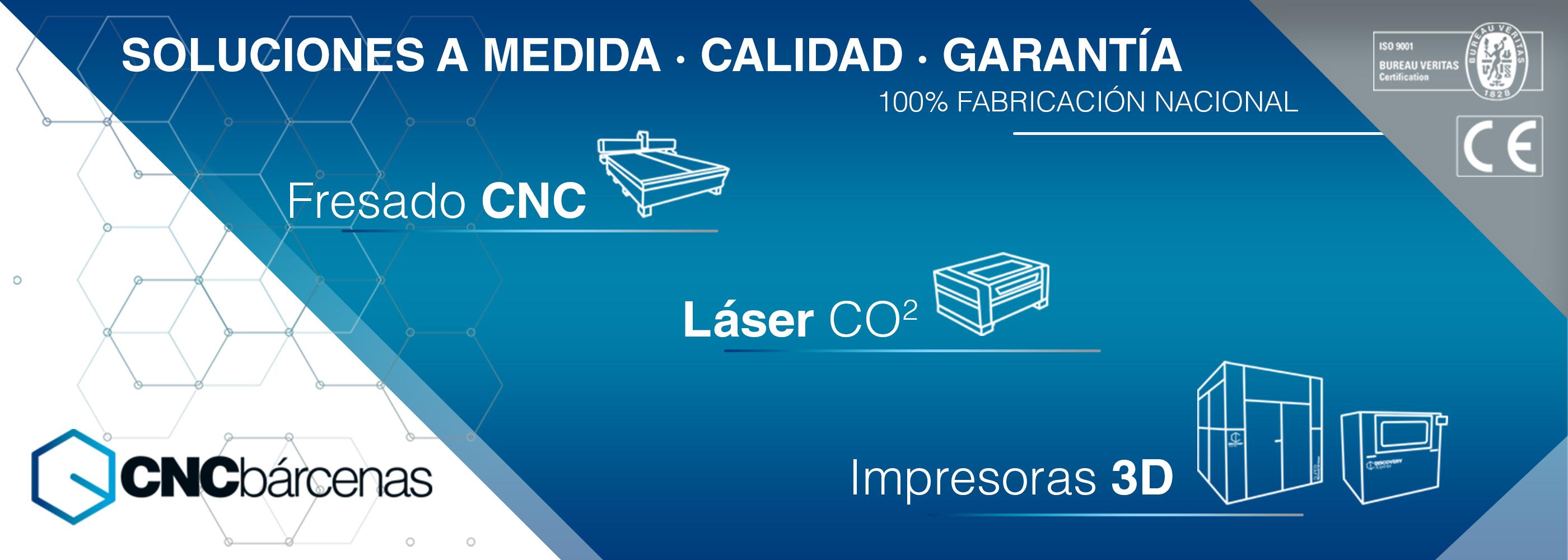 fresadora láser cnc e impresora 3d industrial a medida