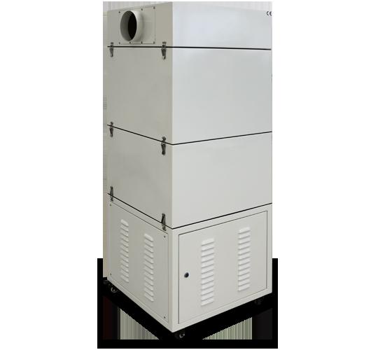 extractor polvo fresadora