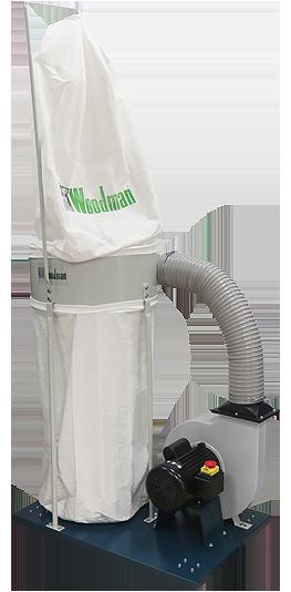 Extractor de polvo para fresadora