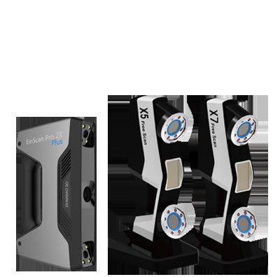 escáner 3d industrial