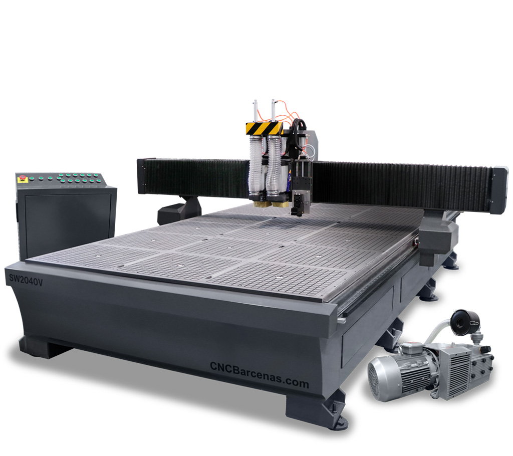 Fresadora CNC a medida