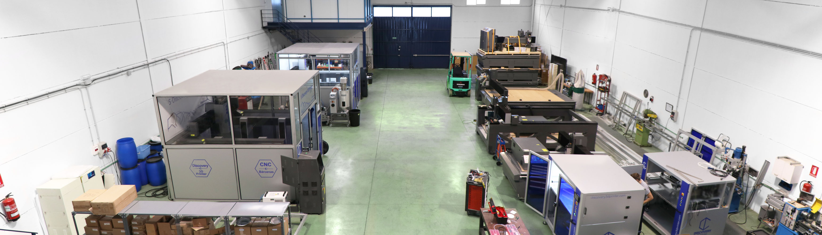 milling machine and co2 laser CNC made in spain
