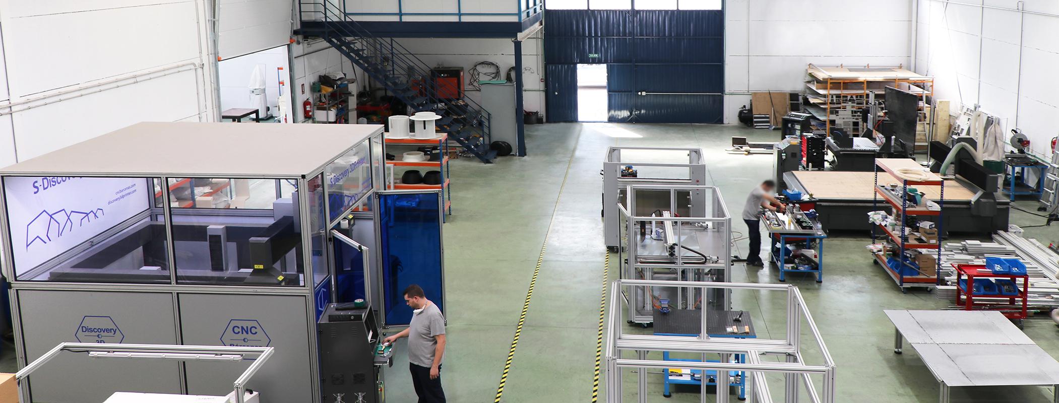 fresadoras y láser CNC fabricación española